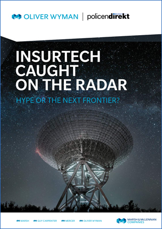 InsurTech caught on the radar – Hype or the next frontier – Studie
